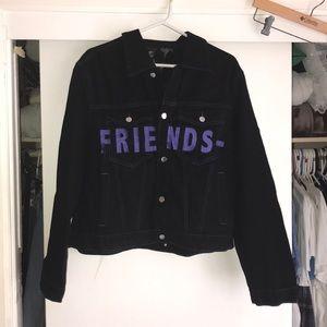 VLONE friends denim jacket